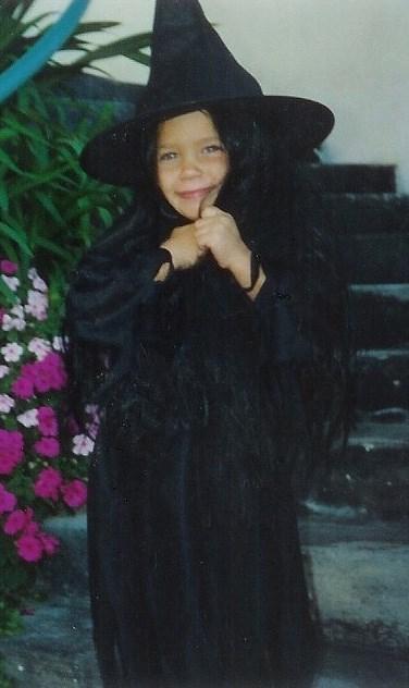 Lauren Conrad's witch Halloween costume.