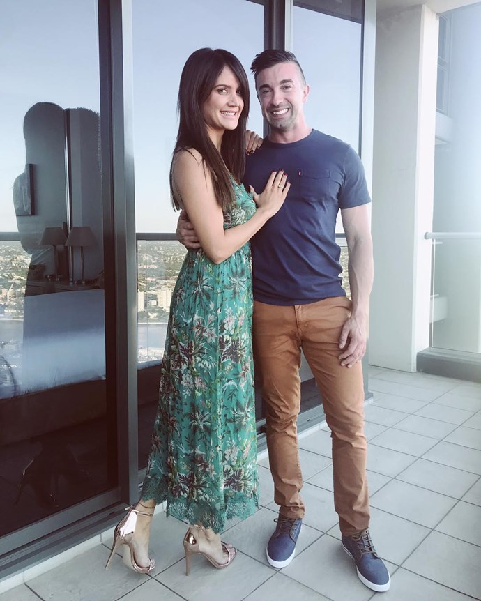 **Cobie Frost**  Sound the alarm — we have a loved-up woman on our hands! It didn't take long for Cobie to find a man, and from the looks of it, she is besotted. Cobie is dating Chris Whearty, and based on the hashtags Cobie uses on Instagram — #howdidigetsolucky, #myhuman, #happyasapiginmud — we'd say she is in love. Good on her!