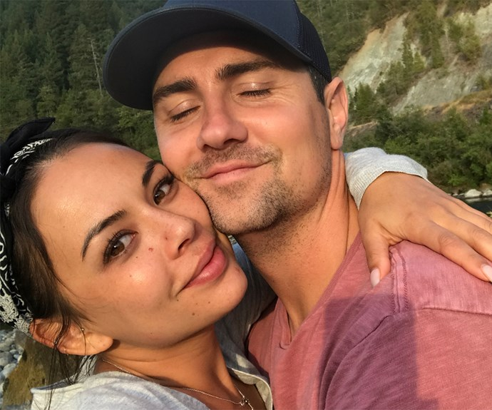 Janel Parrish boyfriend Chris Long