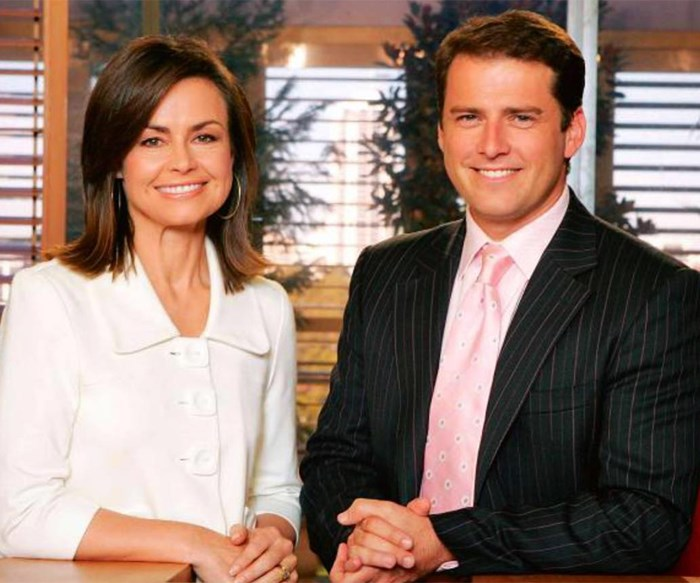 Lisa Wilkinson and Karl Stefanovic Today Show