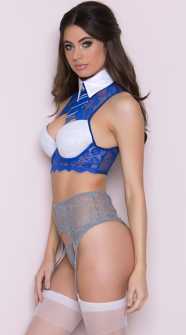 """**Ravenclaw**  Harry Potter set, $50 (approx.) at [Yandy](http://www.yandy.com/Yandy-Brilliant-Magical-Student-Fantasy-Lingerie-Costume.php