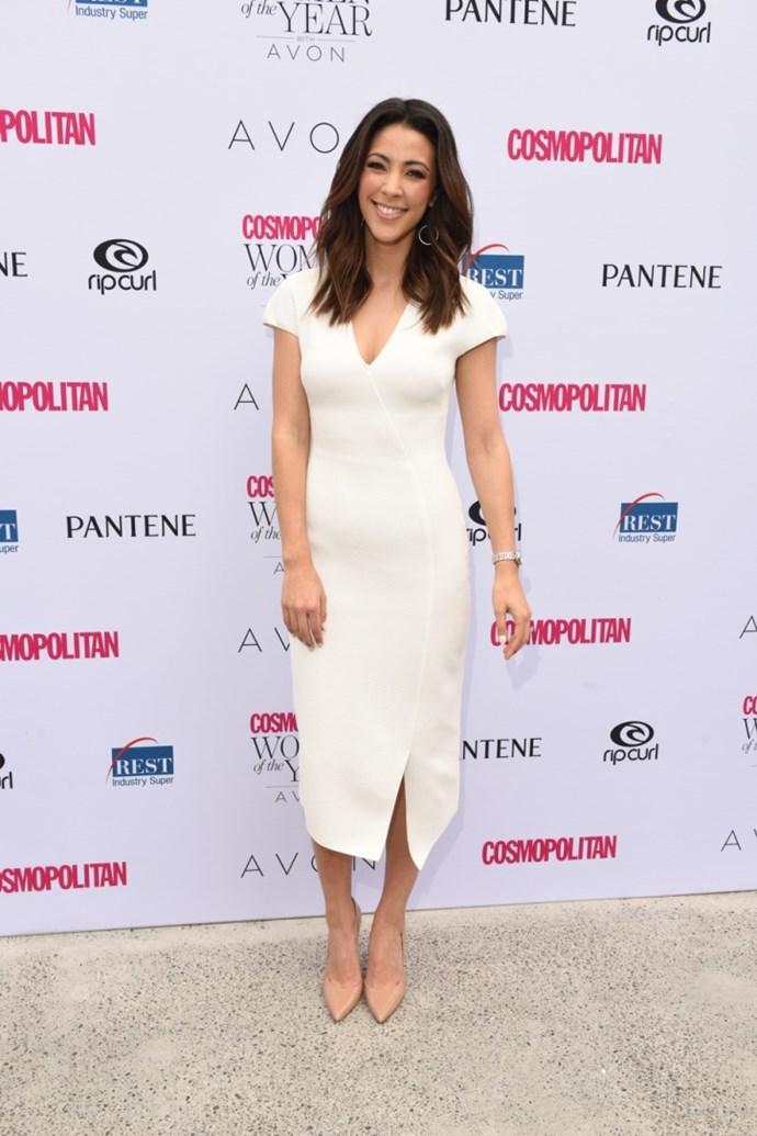 Tara Rushton, finalist for TV/Radio Personality of the Year