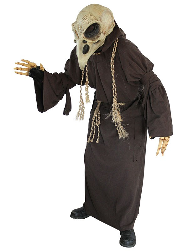 "** BONUS OUTFIT: For those who wanna take 'FREAK' to the next-level** <br><br> $116 from [Halloween Costumes](https://www.halloweencostumes.com.au/adult-crow-skull-costume.html|target=""_blank""