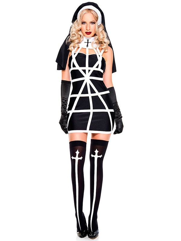 "**Nun** <br><br> $45 at [Yandy](http://www.yandy.com/Religious-Sister-Costume.php|target=""_blank""