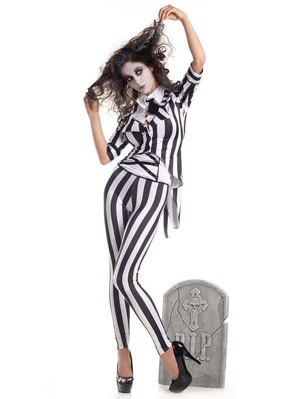 "**Zombie** <br><br> From $65 at [Halloween Costumes](https://www.halloweencostumes.com.au/adult-graveyard-ghost-costume.html|target=""_blank""