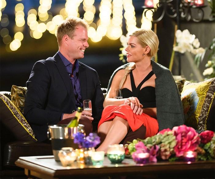 Jarrod and Sophie Monk on The Bachelorette Australia 2017