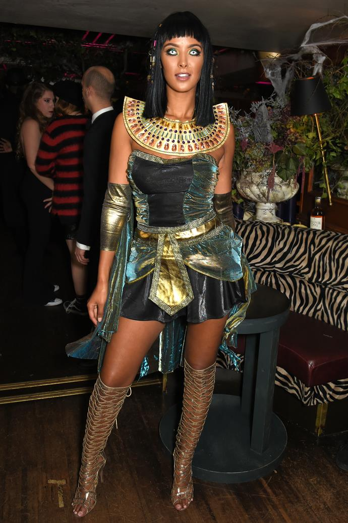 In general, taking any culture's iconography, history or religion and turning into a sexy costume is a big no-no, Maya Jama.