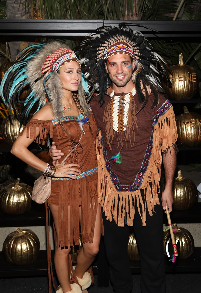 We didn't think we needed to explain in 2017 why wearing a Native American costume was offensive, but here we are. Enter: Siran Manoukian and Tommy Chiabra.