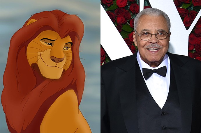 Mufasa will be played by James Earl Jones (again!).