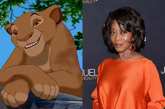Sarabi will be played  by Alfre Woodard.