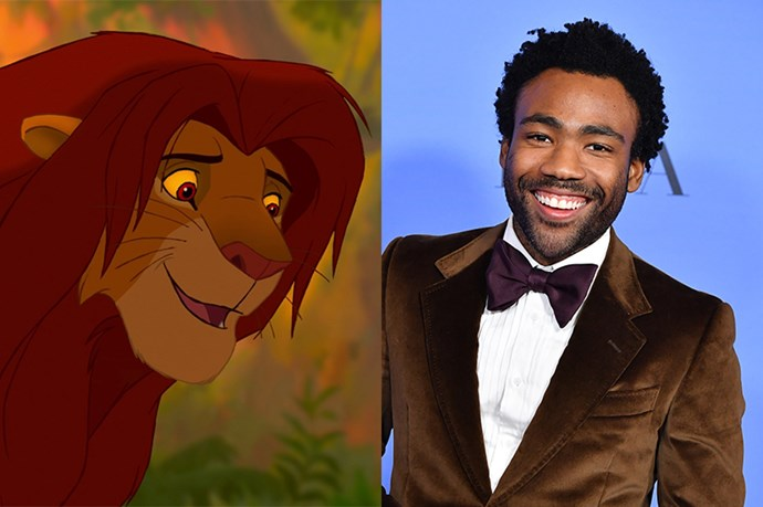 Adult Simba will be voiced by Donald Glover.