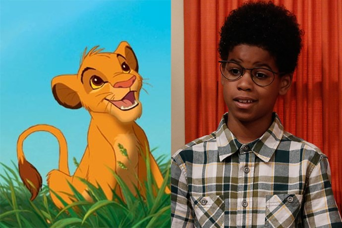 Young Simba will be played by JD McCrary.