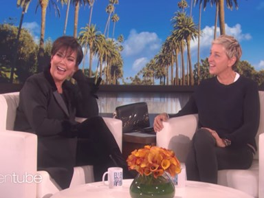 Here's How Kris Jenner Handled Kylie and Khloé's Reported Pregnancies on Ellen