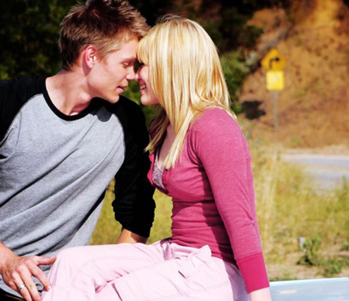 ***A Cinderella Story***: Last but not least is this *very* 2000s look by Sam on her date at the very end of the movie with ~dreamboi~ Austin Ames.