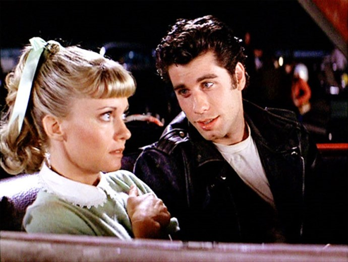 ***Grease***: The preppy AF dress Sandy Olsson wore to the drive-through with Danny Zuko.