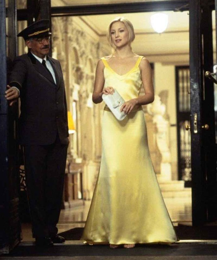 ***How To Lose A Guy In 10 Days***: When Andie Anderson stepped out wearing this drop-dead GORGE canary yellow gown to go to the company ball with Benjamin Barry.