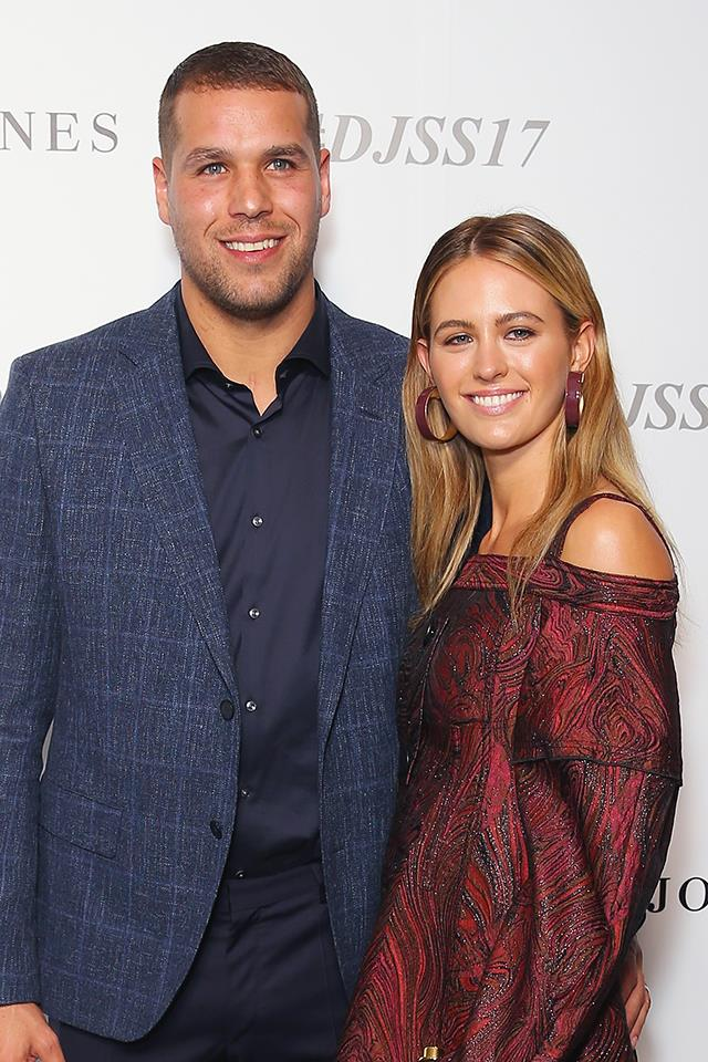 "**Jesinta Franklin and Buddy Franklin** <br><br> Considering Jesinta and Buddy are one of Australia's hottest and healthiest couples, it probably shouldn't come as a surprise that their first date was a pretty healthy one. After finally agreeing to go out with Buddy (Jesinta said he asked for her number years ago, but she told him she was too busy to date) they met at The Crown's hotel bar. ""I was thinking, 'I really need a drink,' and the waiter came over to take our order and Bud was like, 'A green tea.' I was like, shit,"" she told [*Beauticate*](http://www.beauticate.com/who/jesinta-campbell-model-and-ambassador