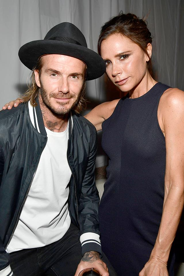 "**Victoria Beckham and David Beckham** <br><br> Before getting married, having four kids, and becoming one of the world's most famous couples, it seems David wooed Victoria with a pretty standard date. He took her out to a modest-looking restaurant and brasserie in London that [Victoria tweeted about](https://twitter.com/victoriabeckham/status/355670308813946880|target=""_blank"") in 2013. She also tweeted what [she wore](http://www.eonline.com/au/news/552780/victoria-beckham-shares-90s-pics-showing-outfit-she-wore-on-first-date-with-david-beckham-plus-first-baby-bump