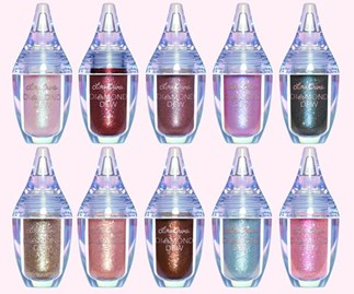 Lime Crime's new Diamond Dew eyeshadows are the brightest, shiniest pigment I've ever seen