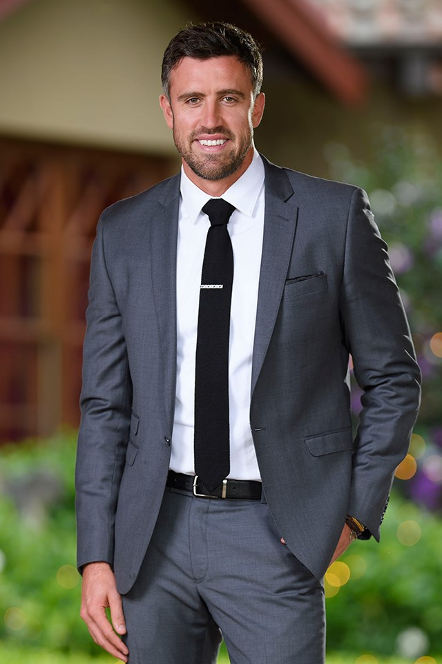 **Luke McLeod**, the George Clooney doppelgänger from Sophie Monk's season of *The Bachelorette* in 2017, who would be major catch on *Paradise*, TBH. He has been spotted arriving in Fiji ahead of filming.