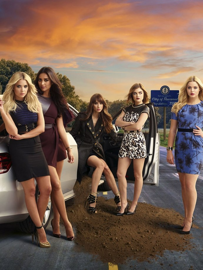 Pretty Little Liars Promotional Picture