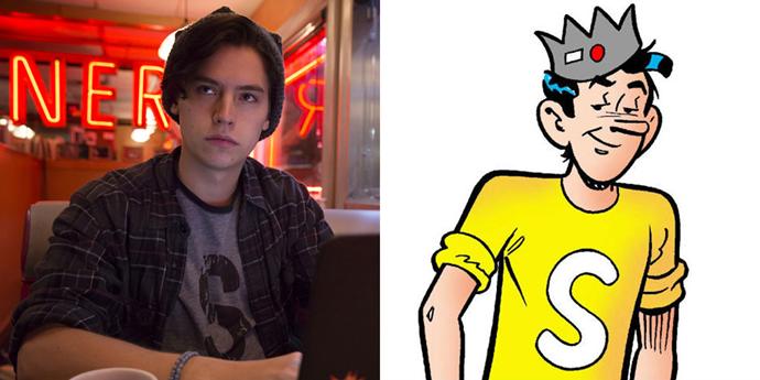 **Jughead Jones**  Why does comics Jughead look like he's 50 years old?