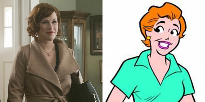 **Mary Andrews**  Molly Ringwald is obviously perfect for this role.
