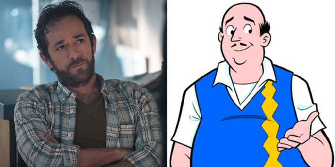**Fred Andrews**  No disrespect to comics Fred, but the casting choice of Luke Perry gave *Riverdale* Fred a *major* upgrade.