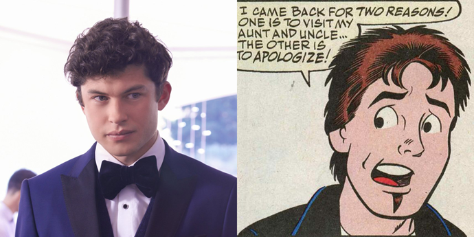 **Nick St. Clair**  *Riverdale* Nick is an asshole and a criminal, but at least he doesn't have a goatee.