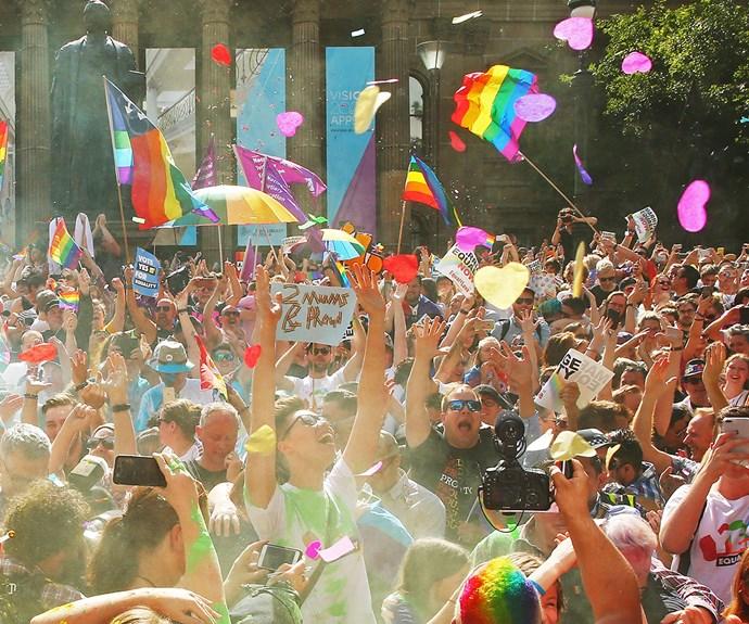 Australia reacts to same-sex marriage postal vote announcement