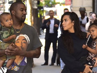 Kim Kardashian confirms sex of third baby and reveals the Wests are 'freaking out' about names