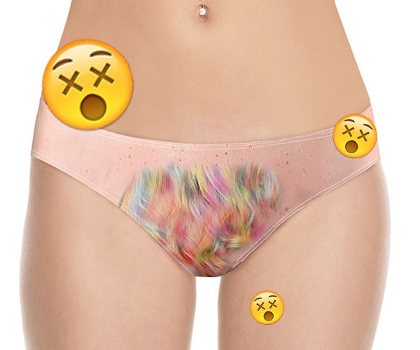 Unicorn hair underwear