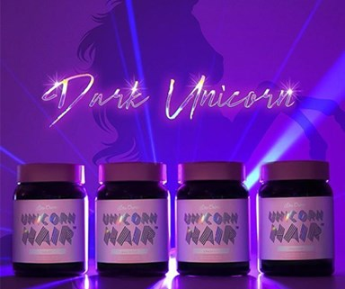 This LimeCrime Unicorn hair dye lets you dye your hair without bleaching it