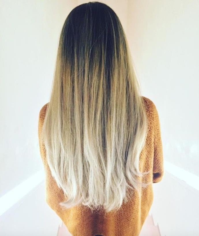 """**Ombre Hair: Ash blonde balayage** <br><br> If you're all about that ash, prepare to fall in love with this dreamy cool ombre blonde. There are *zero* yellow tones in sight. <br><br> (via [@bleachlondon](https://www.instagram.com/bleachlondon/?hl=en