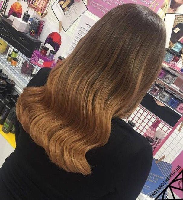 """**Ombre Hair: Chocolate tinted strands** <br><br> Feeling a little colour shy? You can still get on the ombre hype, just opt for a subtler shade. <br><br> (via [@notanothersalon](https://www.instagram.com/notanothersalon/