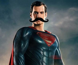 Henry Cavill's dodgy mustache CGI in Justice League