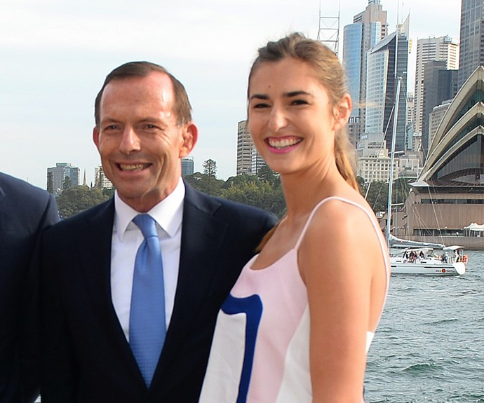 Tony Abbott and Frances Abbott