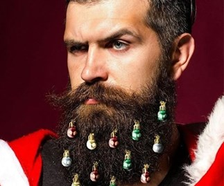 Beard Christmas Ornaments Are Back to Haunt Your Dreams