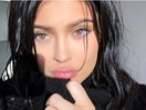 Kylie Jenner Hid in a Giant Black Turtleneck in a Series of Mysterious Instagram Posts