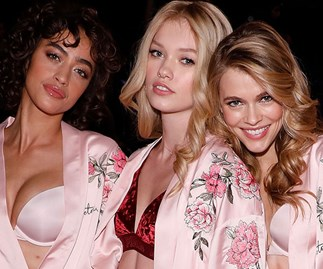 All of the beauty product used backstage at Victoria's Secret this year