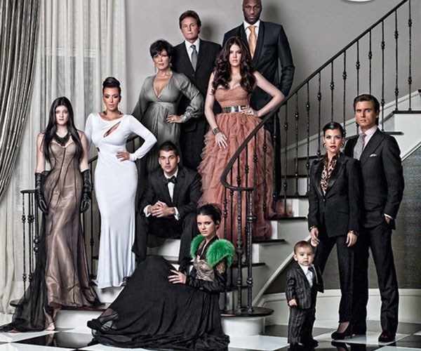 Kardashian Christmas cards