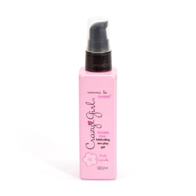 "Crazy Girl Wanna Be Sweet Pink Cupcake Flavoured Warming Lubricant, $19.95 from [Lovehoney](https://www.lovehoney.com.au/product.cfm?p=33035|target=""_blank"")."