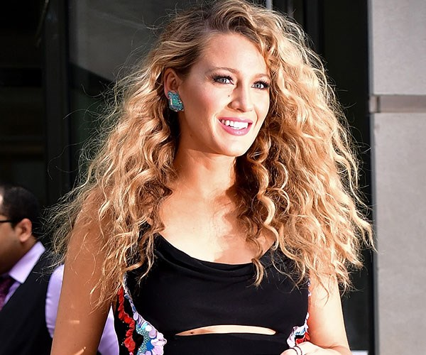 **CURLY:** Blake Lively