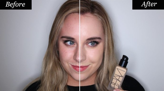 **NARS All Day Luminous Weightless Foundation** <br><br> **Best for: Full coverage** <br><br> Finding a matte foundation that works for dry skin is so tricky. Most are designed to keep oil under wraps, so formulas are loaded with powder pigments that dry down to a velvety finish. These powders can often look flat and cakey when applied to drier skin types. The exception? NARS All Day Luminous Weightless Foundation. <br><br> The snazzy foundation delivers long-wearing full coverage, in a weightless, watery formula. The lightness allows it to blend flawlessly, meaning there's zero dryness. <br><br> NARS All Day Luminous Weightless Foundation, $71, at [MECCA].