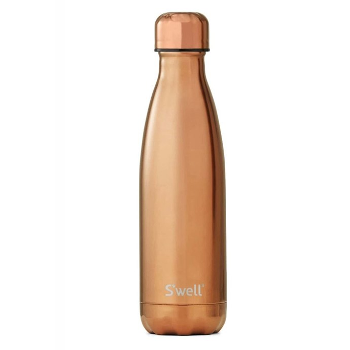 """S'well drink bottle in Rose Gold, $69.99 at [Opus](https://opusdesign.com.au/search?q=s%27well