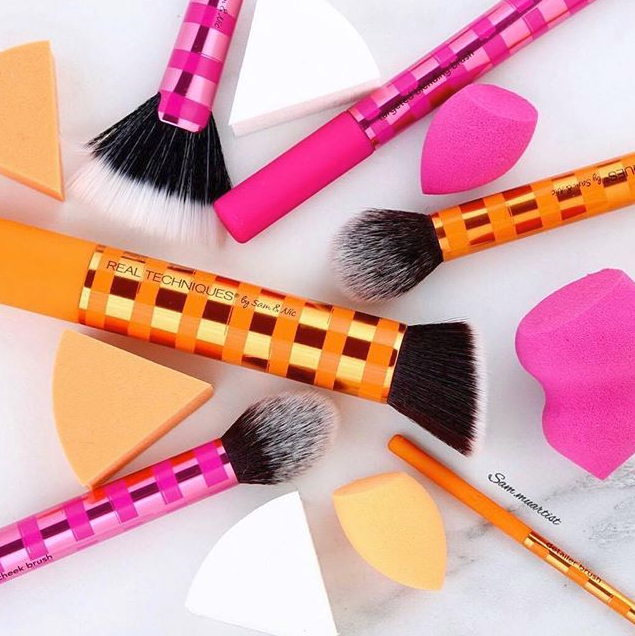 """**Real Techniques** <br><br> YouTube beauty gurus Sam and Nic Chapman, who have over two million followers, are the brains behind this affordable brush brand. We know how hard it can be to justify spending close to $100 dollars on a makeup brush, and thanks to Real Techniques, you won't have to again. All makeup brushes are under $30 dollars, have a cult-following, and are easily accessible from Priceline.  <br><br> Hero Product: Expert Face Brush, $23, at [Priceline]( https://www.priceline.com.au/brand/real-techniques/real-techniques-expert-face-brush-1-ea target=""""_blank"""")."""