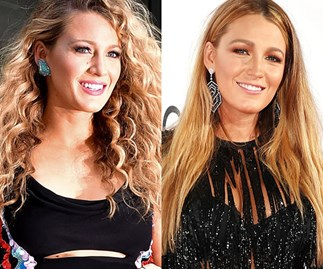 Celebrities who switch between curly and straight hair
