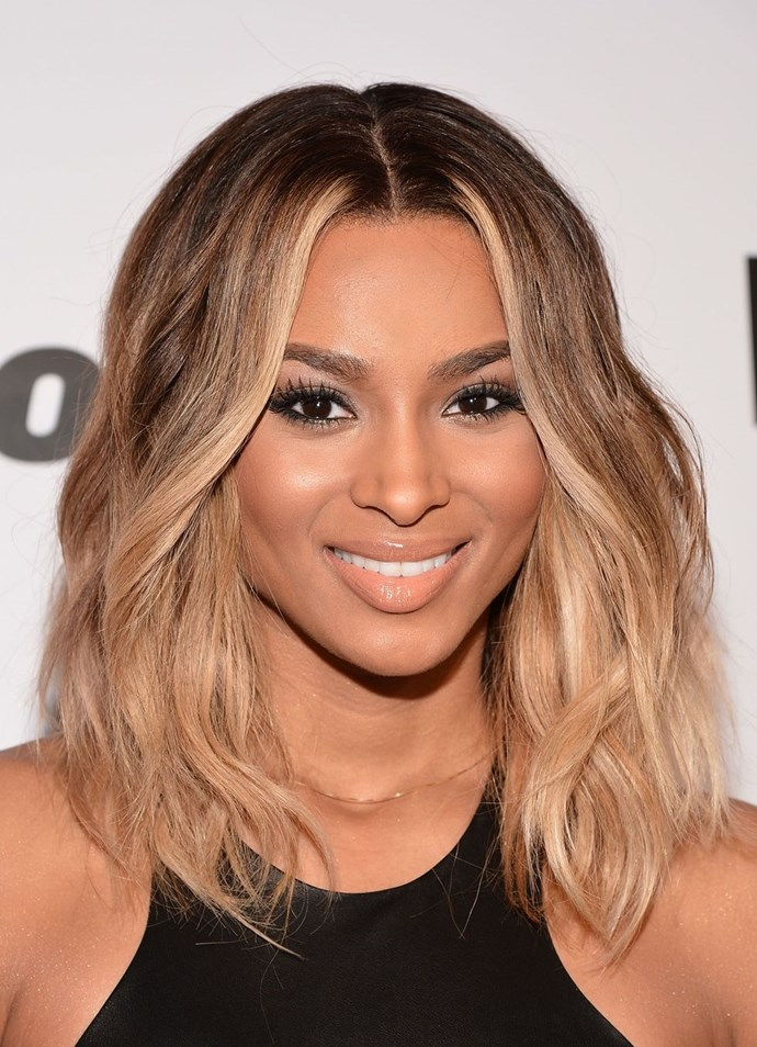 **Ciara's beachy balayage** <br><br> Beachy waves? Check. The perfect balayage? Check. Ciara makes all our medium-length hair dreams come true with this beauty look.