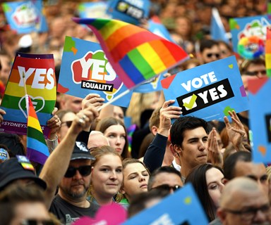 BREAKING NEWS: The same-sex marriage bill has just been passed in the Senate!