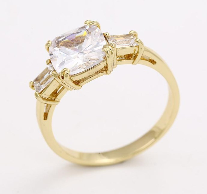 """Princess Meghan Ring, $40 from [Jewel Candy](https://www.myjewelcandy.com/products/princess-meghan-ring